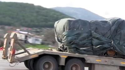 Zeytin Dalı Harekatı - Sınır bölgesine askeri sevkiyat (2) - HATAY