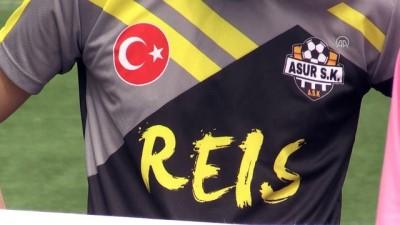 Amatör Lig'de Mehmetçik'e 'pankartlı' destek - DİYARBAKIR