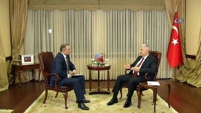 """-  Başbakan Binali Yıldırım: 'Biz Azerbaycan'ın Haklı Davasında Yanındayız"""" - """"Türkiye 40 Yıldan Beri Terör Örgütü İle Mücadele Veriyor"""""""