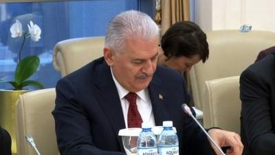 - Başbakan Yıldırım, Azerbaycan Milli Meclis Başkanı Asadov İle Görüştü