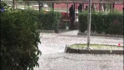 Dolu yağışı hayatı olumsuz etkiledi - EDİRNE