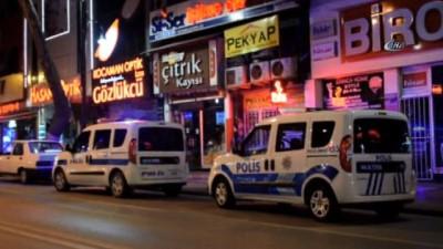 silahli saldiri -  Eğlence merkezine silahlı saldırı anı güvenlik kamerasında