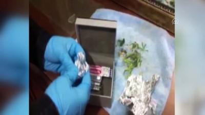Evlerini uyuşturucu imalathanesine çevirmişler - BURSA