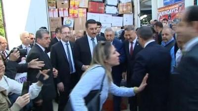 Gümrük ve Ticaret Bakanı Bülent Tüfenkçi'den Reyhanlı ziyareti