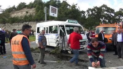 Trafik kazası: 8 yaralı - ANTALYA