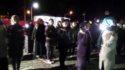 ebic - Üniversite öğrencilerinden Mehmetçik'e ışıklı destek - BİLECİK