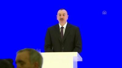 6. Küresel Bakü Forumu - Azerbaycan Cumhurbaşkanı Aliyev - BAKÜ