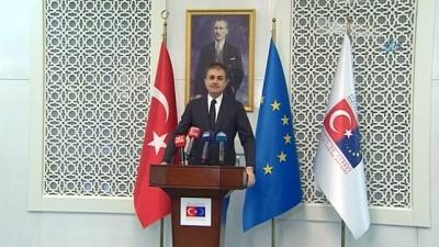 AB Bakanı Çelik: 'AP'nin altına imza attığı en vizyonsuz karar'