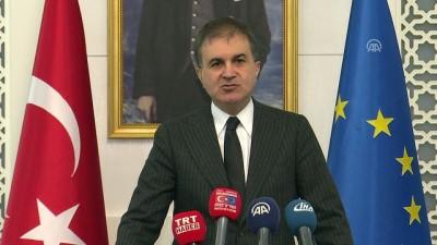 AB Bakanı Çelik: 'AP, vizyonsuz cahilane bir karara imza attı' - ANKARA