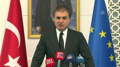 AB Bakanı Çelik: 'Avrupa Parlamentosu'nu ilkeli olmaya davet ediyoruz' - ANKARA