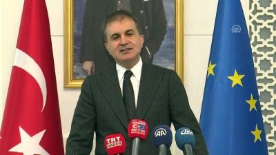 AB Bakanı Çelik: 'Bu açık ve net bir şekilde AP tarafından terör örgütünün dilini kullanmasıdır' - ANKARA