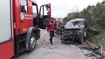 Anadolu Otoyolu'nda trafik kazası: 1 ölü - DÜZCE