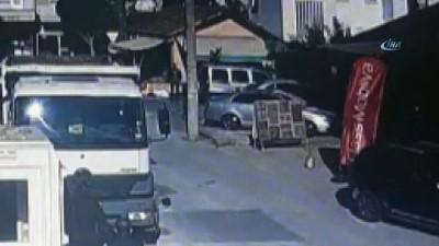 Antalya'daki kadın cinayeti güvenlik kamerasında