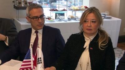 Aybet, ABD'li kanaat önderlerine Zeytin Dalı operasyonunu anlattı - NEW YORK