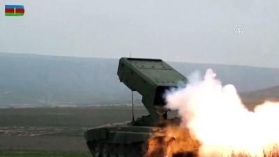 Azerbaycan ordusunun geniş kapsamlı tatbikatı sürüyor - BAKÜ