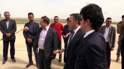 Bağdat Büyükelçisi Yıldız, Musul havalimanını ziyaret etti - MUSUL