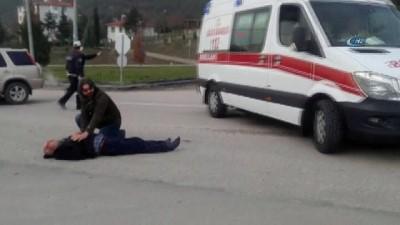 Beypazarı'nda trafik kazası:1 yaralı