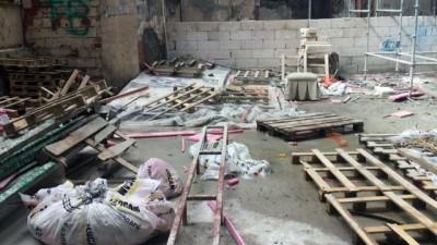 Bursa'da inşaat işçisi feci şekilde can verdi