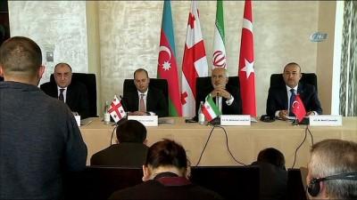 """- Dışişleri Bakanı Mevlüt Çavuşoğlu: """"üç Ülkeyle De Dostluğumuz Kardeşliğimiz Her Geçen Gün Derinleşiyor"""" - """"ulaşım Ağlarımızı Güçlendirirsek Ticaret De Artar"""""""