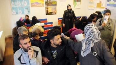 Mülteciler için sağlık polikliniği açıldı