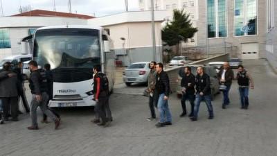 Samsun'daki torbacı operasyonunda 14 kişi adliyeye sevk edildi