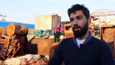 Savaşın 7. yılında çadırlarda 'umut'la yaşıyorlar (1) - İDLİB