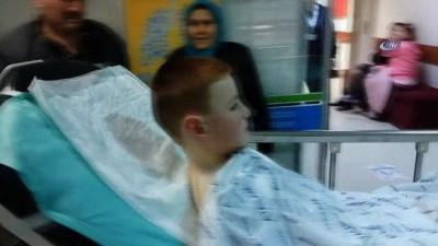 silahli saldiri -  Silahlı saldırıda sokakta oynayan 6 yaşındaki çocuk vuruldu