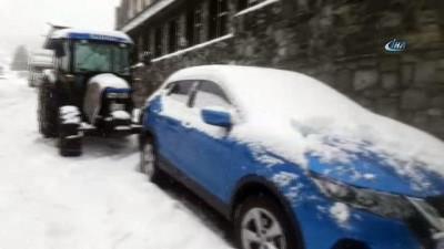 Uludağ'a mart karı...Kar kalınlığı 152 santime ulaştı