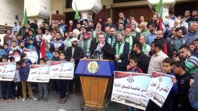 ABD'nin Kudüs kararının 100. günü - GAZZE