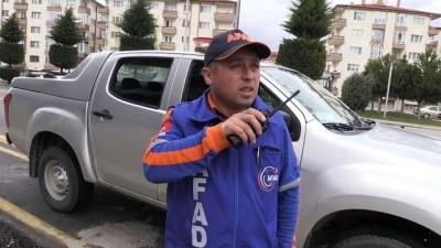 AFAD'dan deprem tatbikatı - BOLU