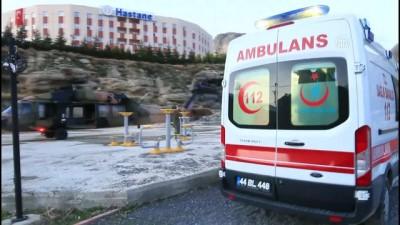 Askeri helikopter, silahla yaralanan çocuk için havalandı - MALATYA