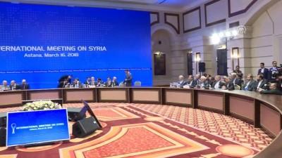 Astana'da Suriye konulu dışişleri bakanları toplantısı - Detaylar - ASTANA