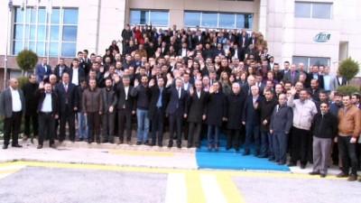 Başkan Yanılmaz ve meclis üyeleri destek için Kilis'e gitti