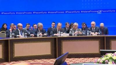Çavuşoğlu-Lavrov-Zarif, Suriye için bir araya geldi - Lavrov - ASTANA