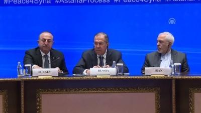Dışişleri Bakanı Çavuşoğlu: 'Anayasa komitesinin bir an önce çalışmaya başlamasında büyük fayda görüyoruz' - ASTANA