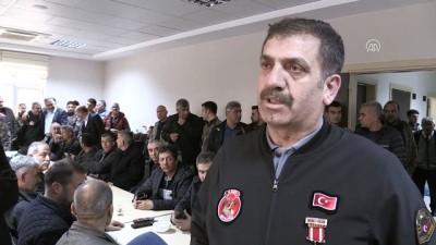 Emekli özel harekatçı polislerden Zeytin Dalı Harekatı'na destek - KİLİS