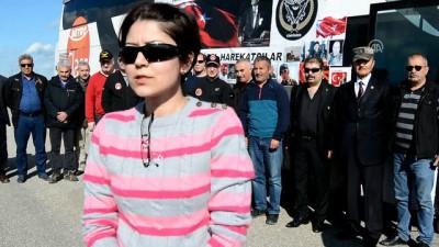 Emekli Özel Harekatçılar ve şehit ailelerinin Afrin'e destek ziyareti - GAZİANTEP