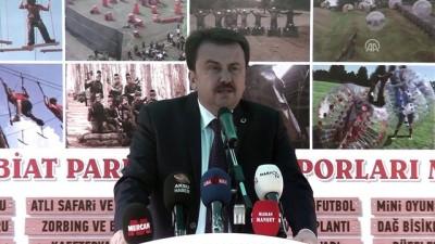 Kahramanmaraş'a ekstrem spor tesisi
