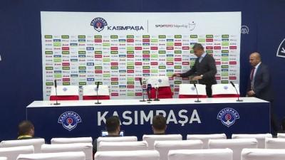 Kasımpaşa - Antalyaspor maçının ardından - Hamzaoğlu/Özdeş - İSTANBUL