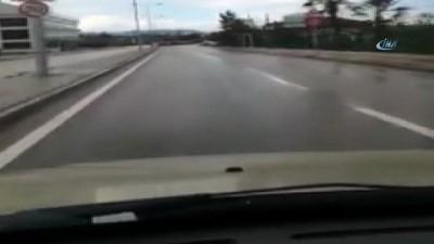 Kural tanımayan sürücü kazaya davetiye çıkardı