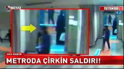Metro istasyonunda başörtülü kadına saldıran şahıs serbest bırakıldı