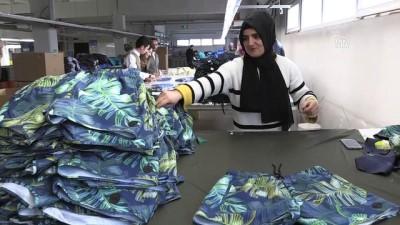 Muş'tan 40 ülkeye spor giyim ihracatı