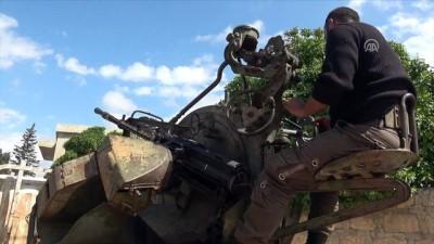 TSK ve ÖSO, sivilleri hedef alan terör mevzilerini imha etti - AFRİN
