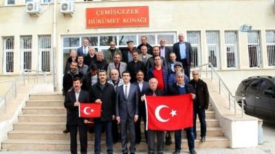 Tunceli'de muhtarlar maaşını, Mehmetçik'e bağışladı