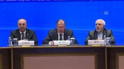 Türkiye, Rusya ve İran dışişleri bakanları ortak basın toplantısı - Lavrov - ASTANA