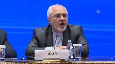 Türkiye, Rusya ve İran dışişleri bakanları ortak basın toplantısı - Zarif - ASTANA