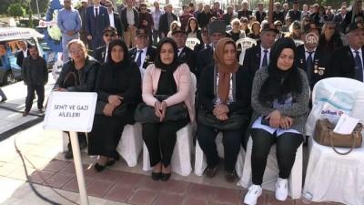 'Zeytin Dalı Anıtı' açıldı - MERSİN