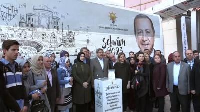 AK Parti'nin 'Şehrim 2023' projesi - GAZİANTEP