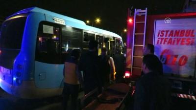 Ataşehir'de trafik kazası: 2 yaralı - İSTANBUL