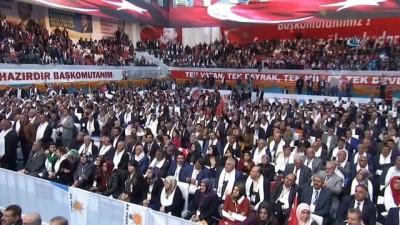 Cumhurbaşkanı Erdoğan: 'Bu örgüt islam düşmanı bir örgüttür. Masum sivilleri kalkan yapacak kadar, ana kucağındaki bebekleri katledecek kadar vahşi bir örgüttür'